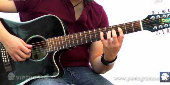 Como tocar escalas exoticas en la guitarra