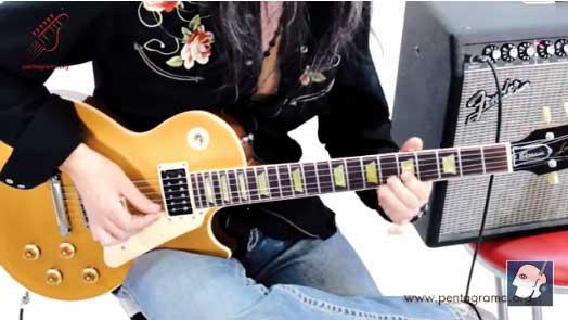 ligados en la guitarra, ligados