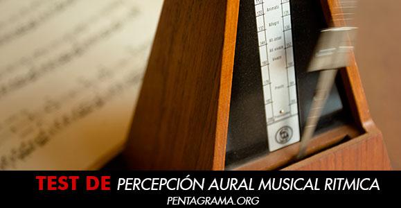 Percepción aural musical rítmica