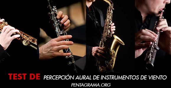Percepción aural musical de instrumentos de viento