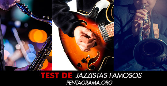 Test  jazzistas famosos