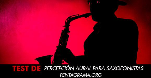Percepción aural musical para saxofonistas