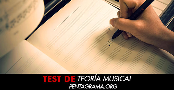 Test  teoría musical