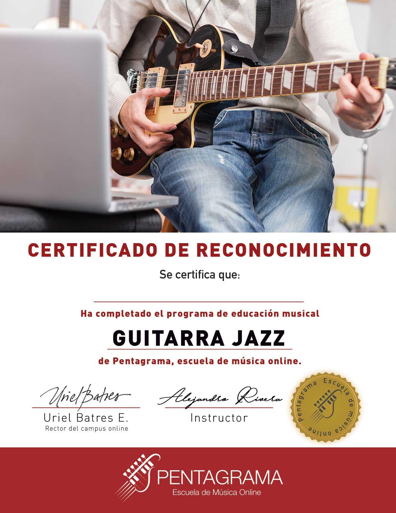 certificate con el sistema acoustic master