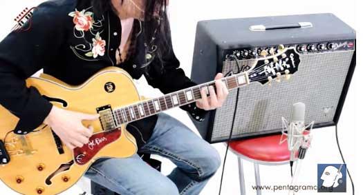como tocar licks en la guitarra