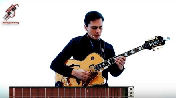 como tocar blues en la guitarra