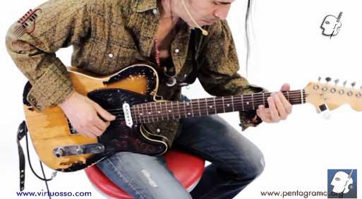 Como tocar armónicos naturales en la guitarra