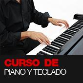 Curso de piano y teclado