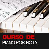CURSO DE PIANO POR NOTA