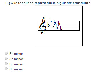 Test  Símbolos musicales