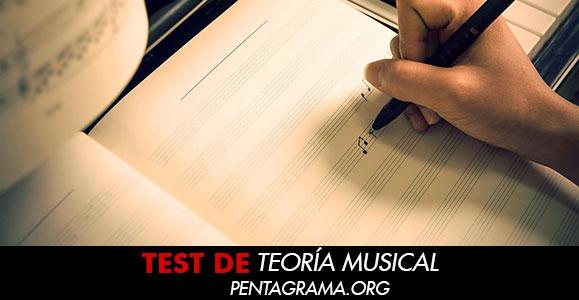 Test  teoría musical