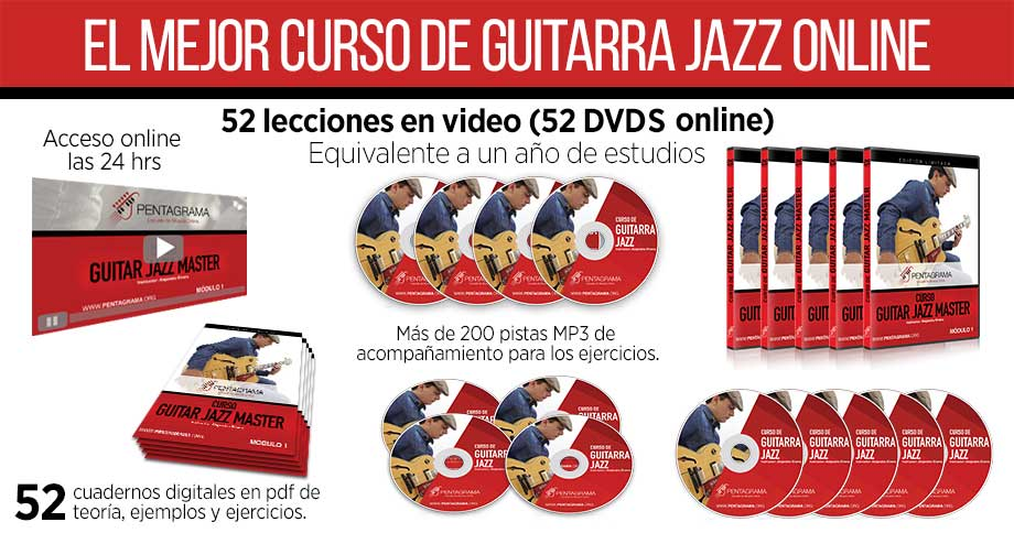 Curso completo de guitarra jazz